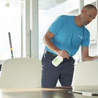 Disinfecting Hard and Soft Surfaces In The Workplace
